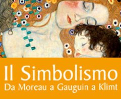Il Simbolismo. Da Moreau a Gauguin a Klimt, locandina della mostra